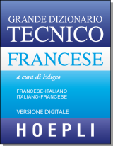 DIZIONARIO TECNICO FRANCESE - downloadable version