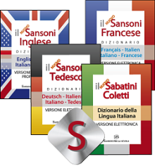 Package 4 Sansoni dictionaries- downloadable version + online version