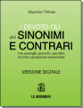 SPECIAL OFFER FOR il Devoto-Oli dei SINONIMI e CONTRARI