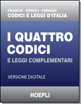 I Quattro Codici HOEPLI - downloadable version + online version