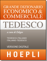DIZIONARIO ECONOMICO & COMMERCIALE TEDESCO - version en ligne (1 an)