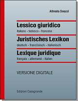 Lessico giuridico - online version (1 year)