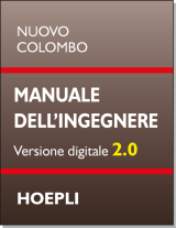 Nuovo Colombo - Manuale dell'ingegnere 2.0  HOEPLI - downloadable version + online version